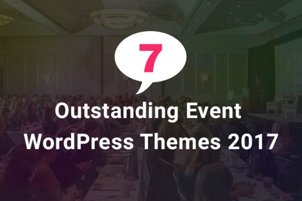 Seven Outstanding Event and Conference WordPress Themes 2017
