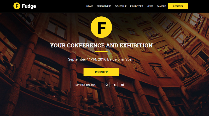 Event & Conference WordPress Theme