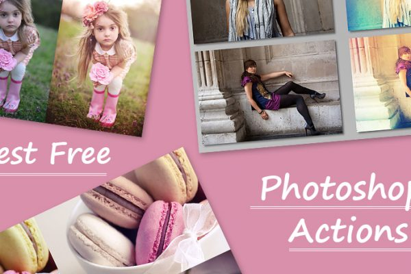 8 Best Free Photoshop Actions Designers Must Know