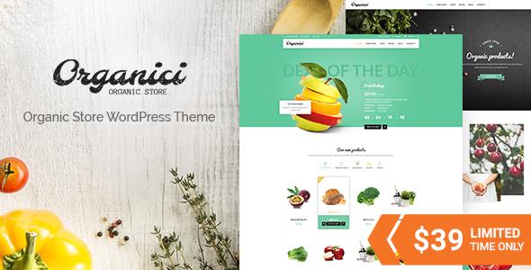 Organic Store & Bakery WooCommerce Theme