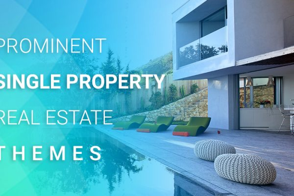 8 Prominent Single Property Real Estate WordPress themes in 2017