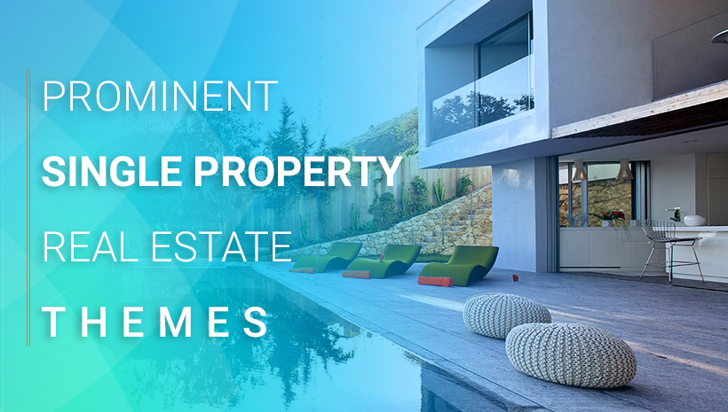 single property WordPress themes