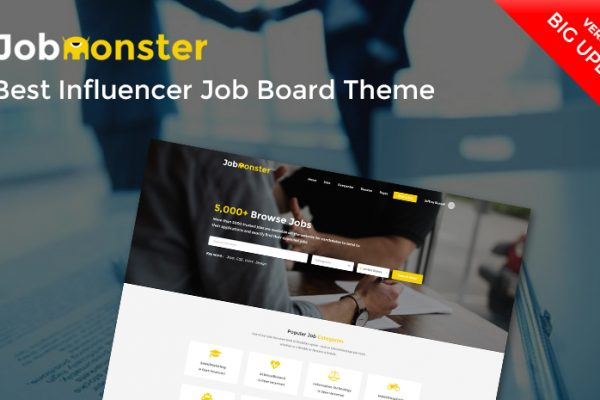 job board theme