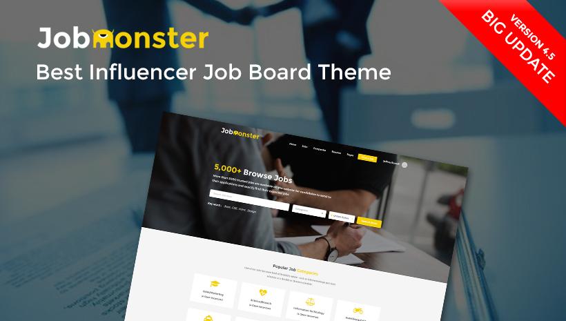 job board theme