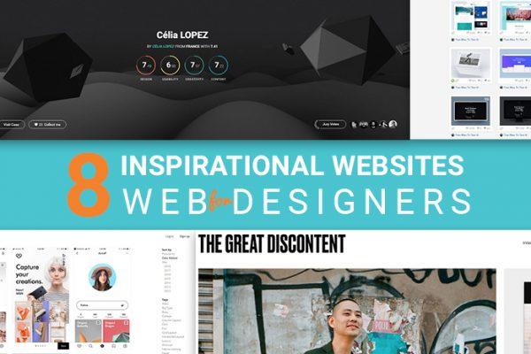 8 Inspirational Websites for Web Designers in 2018