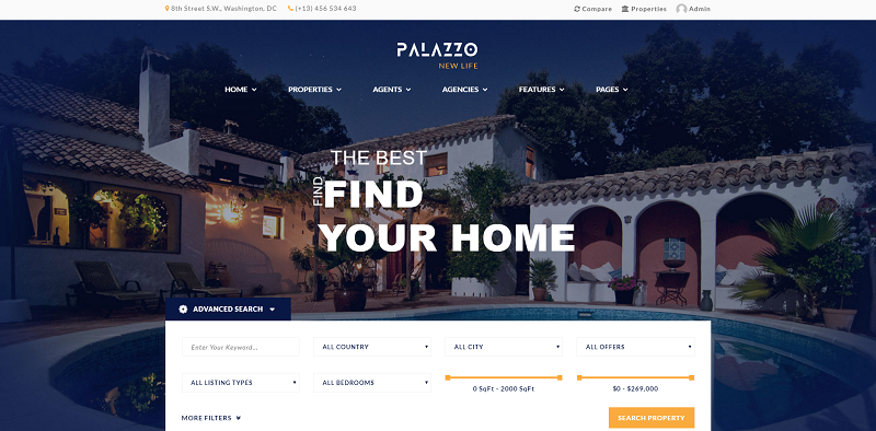 Functional Real Estate Theme