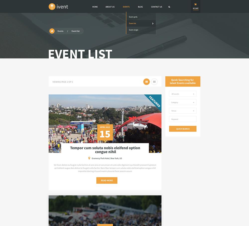 Beste Veranstaltung Wordpress Vorlage Fotos - Beispiel Anschreiben ...